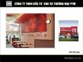 PTM cung cấp nẹp góc ngoài, nẹp ốp góc nhựa PVC cho hệ thống KFC Việt Nam